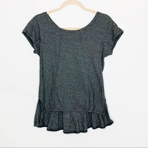 MARC by MARC JACOBS Gray Blouse Top Small